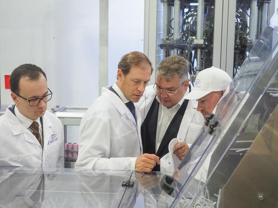 Глава Минпромторга РФ оценил производственный потенциал Ставрополья