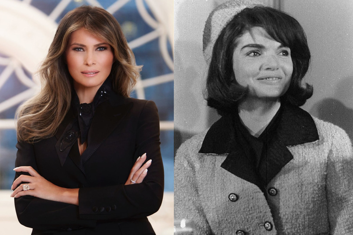 Трамп сравнил Меланию с Жаклин Кеннеди
