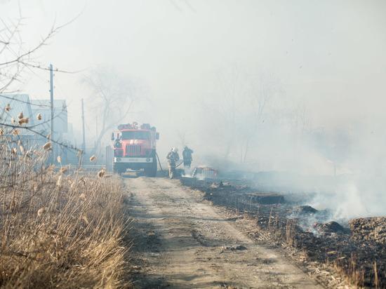Волгоградцев предупредили о сохранении чрезвычайной пожароопасности