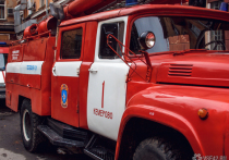 Около 20 кемеровчан эвакуировали из-за ночного пожара в ресторане