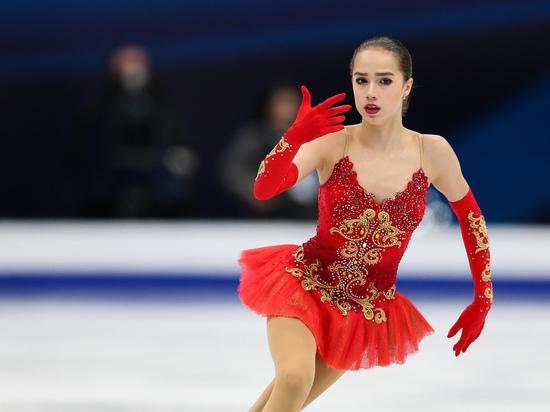Загитова выступила под любимую песню Медведевой