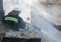 В Ивановской области в ночных пожарах сгорели нежилое строение и садовый дом