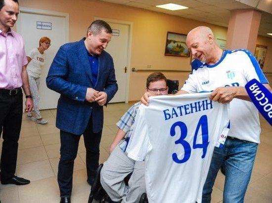 Мальчику из Подмосковья сделали экзоскелет в Волгограде