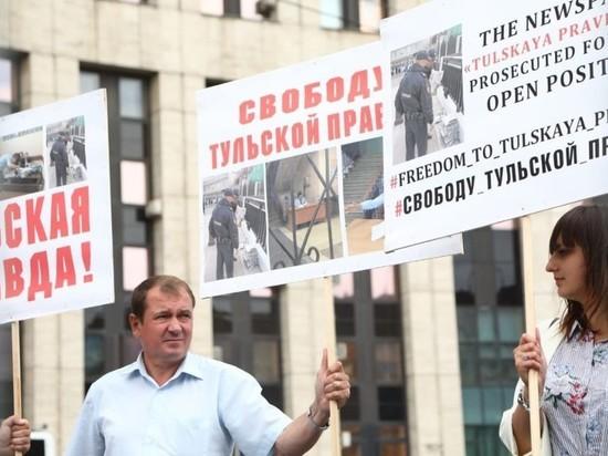 На проспекте Сахарова начинается митинг