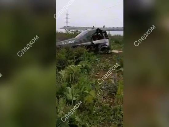 Пилот после аварии самолета в Подмосковье заявил о нехватке топлива