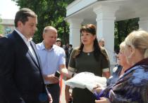 Губернатор Смоленсщины поздравил вязьмичей с юбилеем города