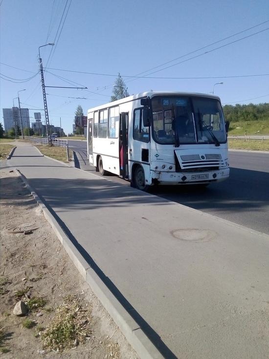 Пассажиры пострадали из-за резкого маневра водителя маршрутки