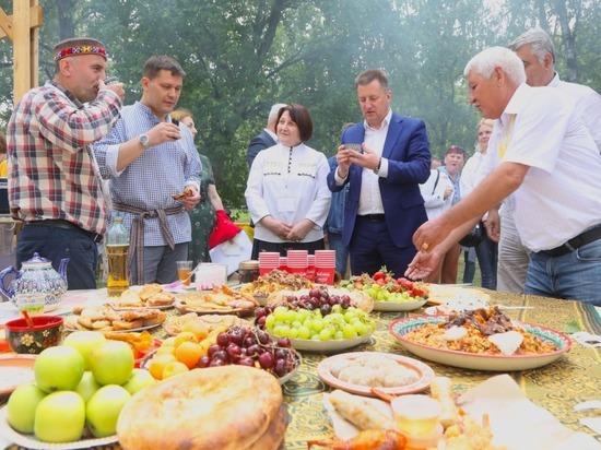 Фестиваль национальных культур «Единство» в шестой раз открылся в Вологде