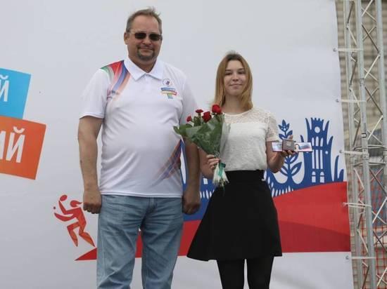 В Вологде проходит XXX Всероссийский Олимпийский День