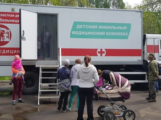 Специалисты выездных поликлиник обследуют более 40 тысяч жителей Ярославской области