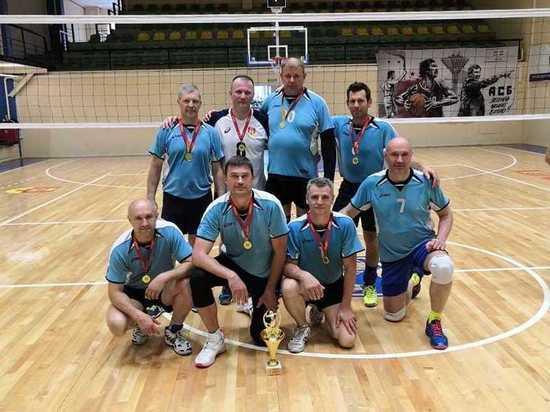 Тверская команда выиграла турнир ветеранов волейбола