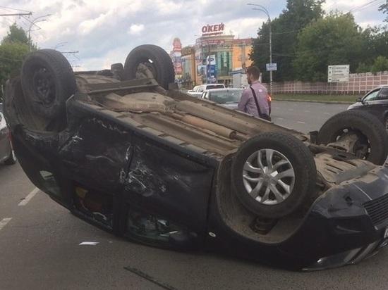 В Иванове произошло ДТП с пострадавшими