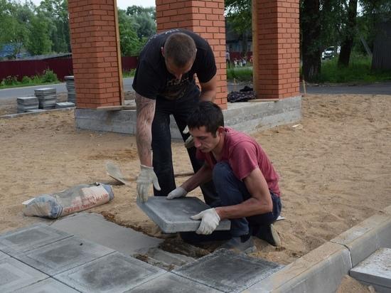 В Оленинском районе строят часовню