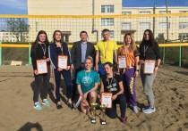 Команда «Псков» выиграла первенство Никеля по пляжному волейболу