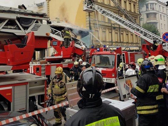 В Москве при пожаре погибли пенсионеры