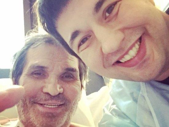 Сын забрал Бари Алибасова из больницы