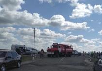 Два водителя и четыре пассажира пострадали на оренбургской трассе