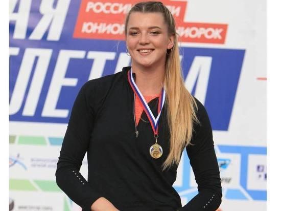 Юная спортсменка Тверской области лучше всех в России толкает ядра