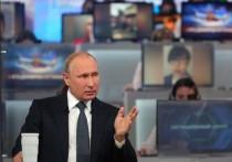 Судя по прогнозам метеорологов, «Прямая линия» Путина с народом 20 июня пройдет на фоне очень жаркой погоды