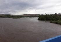 Из-за сильных дождей в Туве поднялся уровень воды в реках