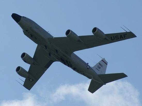 Американский самолёт-разведчик был замечен у границ Калининградской области