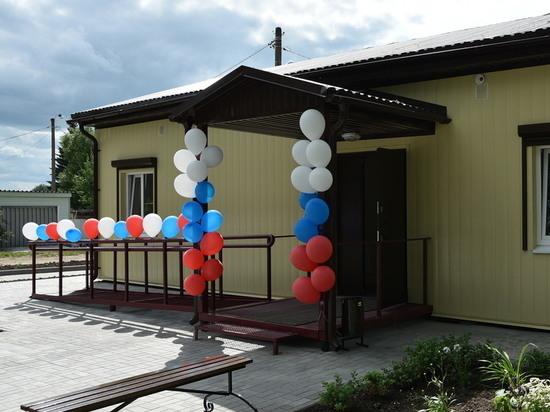 В Старожиловском районе открыли ФАП для полутора тысяч человек