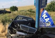 В Калмыкии пассажир на ходу выпрыгнул из машины и разбился