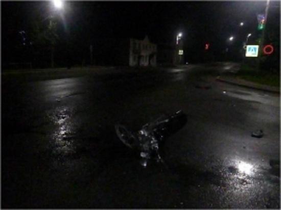 В Тверской области разбились ребята на мопеде