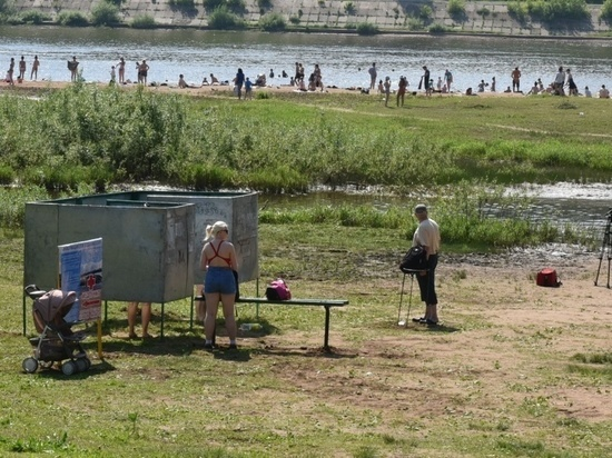 В Кирове готовятся к открытию пляжа