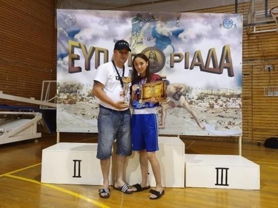 Спортсменка из Ямала стала чемпионкой по боксу в Греции