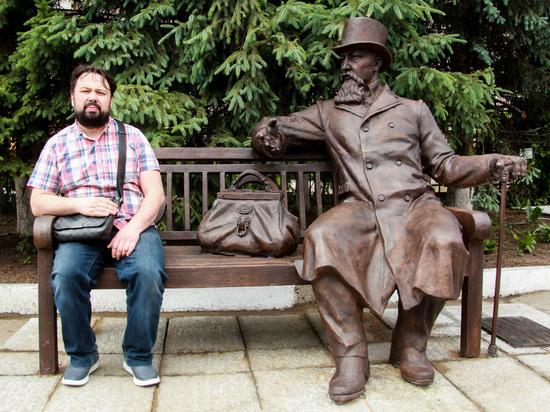В Иркутске открыли памятник купцу Бутину