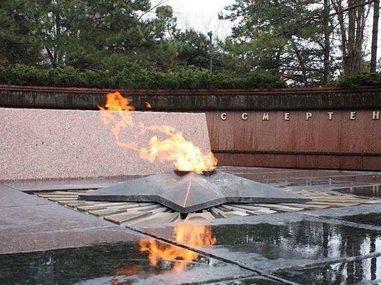 В Симферополе временно погаснет Вечный огонь