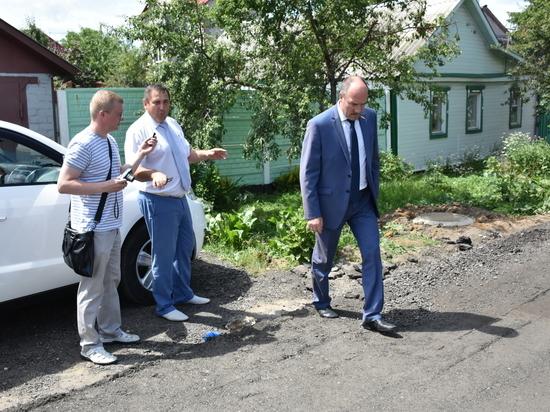 Леонид Музалевский оценил  работы по укладке твёрдого покрытия в Орле