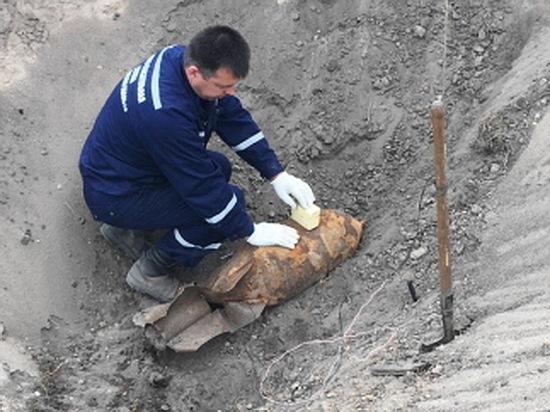 В Воронежской области уничтожили авиабомбу времен войны