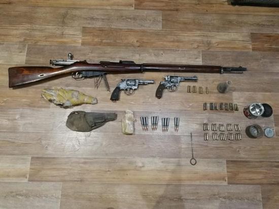 Житель Саранска ответит за хранение оружия времён революции