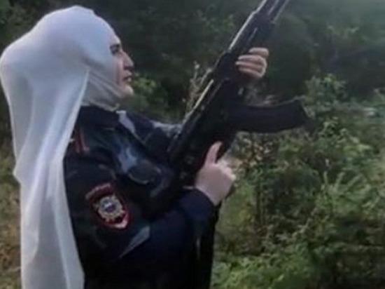 Суд оштрафовал жительницу Северной Осетии, стрелявшую из автомата