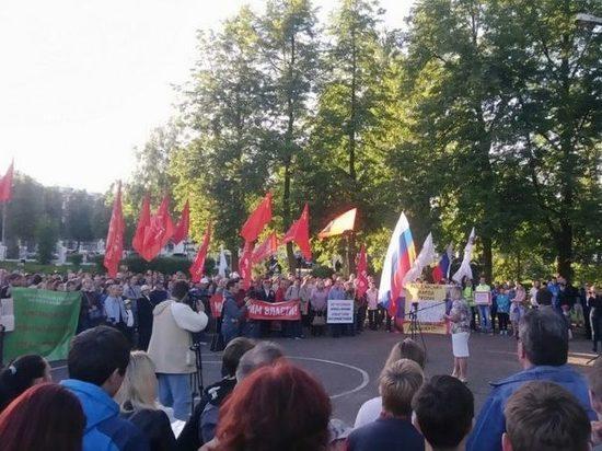 На митинг против строительства завода в Марадыкове вместо тысяч пришли сотни кировчан