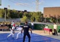 Юные калмыцкие рукопашники встретились на турнире