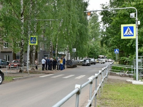 В Кирове построено 20 пешеходных переходов из 64