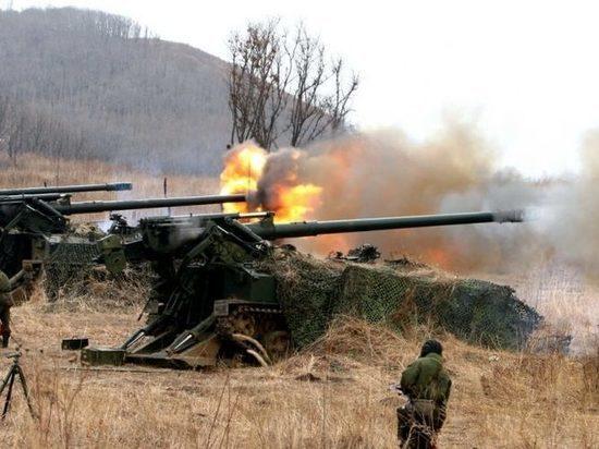 Украинская артиллерия нанесла массированный удар по Донецку