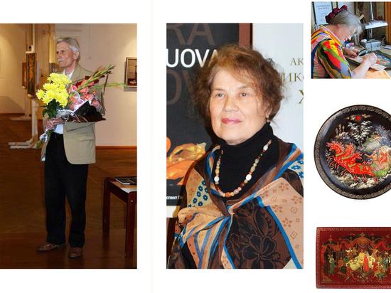 Два ивановских художника получили звания Заслуженных