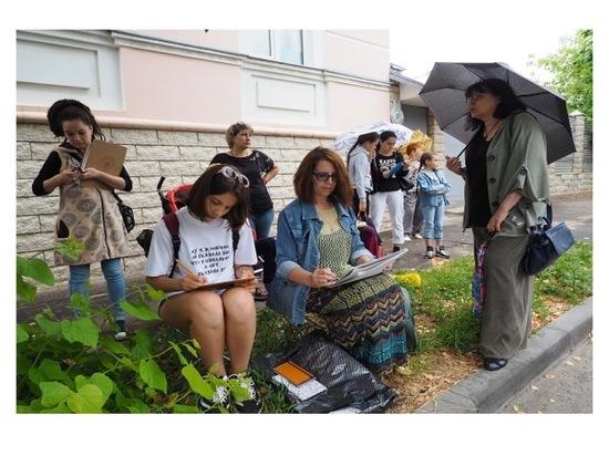 Серпуховичей приглашают на «Скетчинг-экскурсии по городу С.»