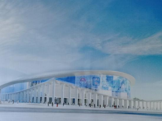Одобрен внешний вид ледового дворца на нижегородской Стрелке
