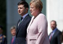 Зеленский заявил, что Меркель была с ним в безопасности