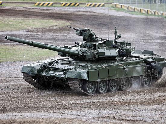 В Сети появились кадры боя российского танка Т-90 в Сирии
