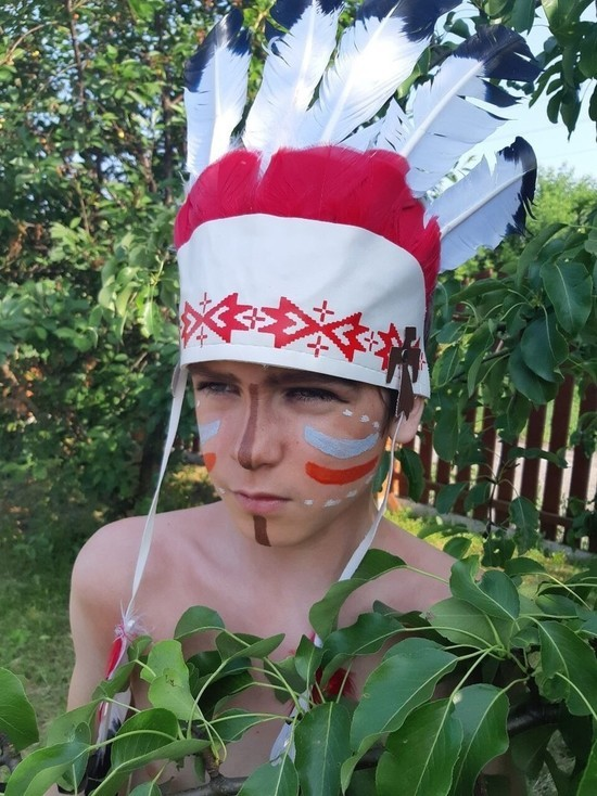 Юный рязанский актер принял участие в кастинге на главную роль в фильме «Мой папа – вождь»
