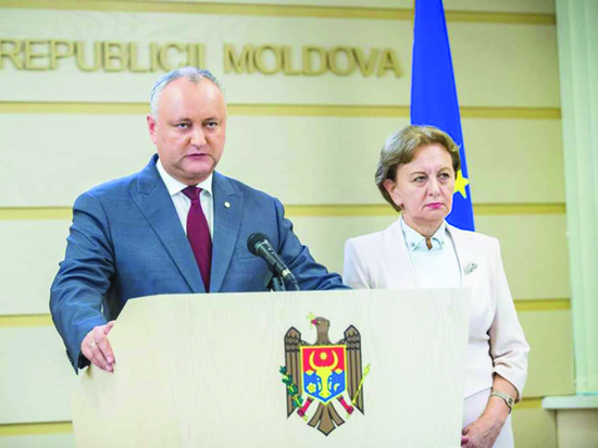 Семь дней незаконного правительства в Молдове