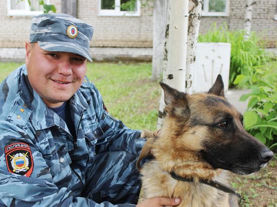 В подразделениях полиции Пермского края несут службу четвероногие стражи порядка