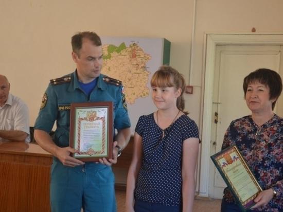 9-летняя девочка из Щекино спасла свою семью от пожара