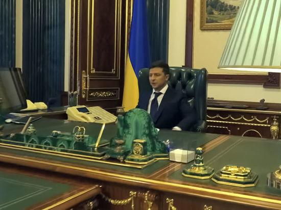 Зеленский показал «прикол» в своем кабинете